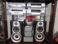 Technics SH-DV250 CD/DVD Hi-Fi Music System/ DVD Movie Player.