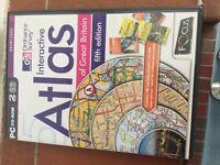 Cd rom atlas of great britain