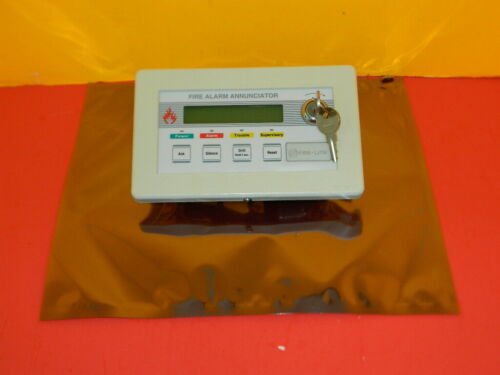 FIRE LITE NOTIFIER LCD-40 REMOTE FIRE ALARM ANNUNCIATOR