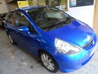 2007 HONDA JAZZ 1.4 SE AUTOMATIC, 5 DOOR, HATCHBACK, FULL SERVICE HISTORY, LOW MILES ONLY 42