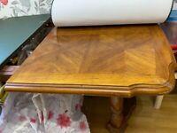 Dark Oak wood Expandable dining table
