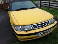 Saab 9-3 1998 convertible breaking for parts