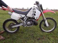HONDA CRM 250 MOTOCROSS BIKE