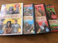 Horrible Histories DVDs