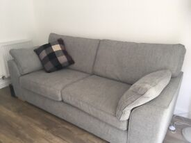 Next - 3 seater Stamford sofa and armchair