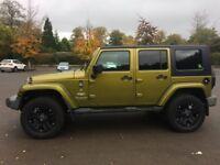 Jeep Wrangler Sahara Unlimited Custom
