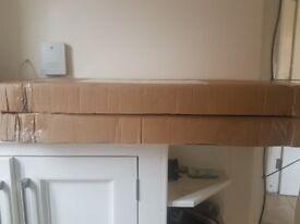 NEW 2x 5 tier heavy duty garage shelfs