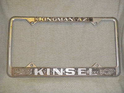 Used Lincoln License Plate Frames for Sale