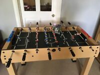 Football table, with 5 balls. 7+