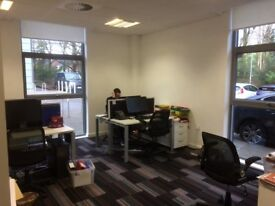 Desk to rent lovely office Solihull