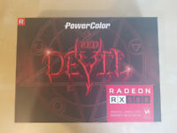 RADEON RX 580 (8 GB) Red Devil. Mint condition, barely used. Graphics/Video card