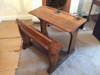 Beautiful antique school desk for sale!