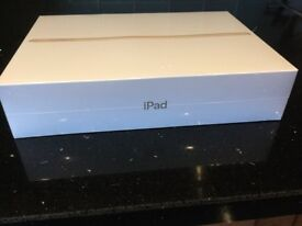 Apple iPad, latest 2018 model a1893 128gb wifi, brand new sealed, ideal gift