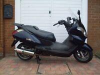 ** 2006 Aprilia Atlantic 125cc Commuter Scooter **