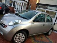 Low milleage micra 1.2 auto