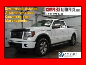 2013 Ford F-150 FX4 Supercab 4x4 Ecoboost *Marchepied,Toile boit