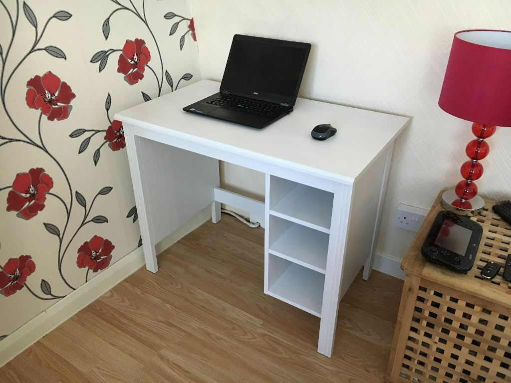 Ikea Quot Brusali Quot Computer Desk Table In Paisley