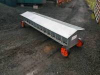 Ritchie 8ft lamb creep feeder in great condition farm livestock