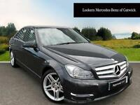 Mercedes-Benz C Class C220 CDI BLUEEFFICIENCY AMG SPORT (black) 2013-03-20