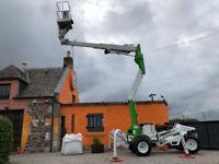 Aerial Platform Cherry Picker Comet Xiraffe Tractor 4WD - Part Exchange Possible