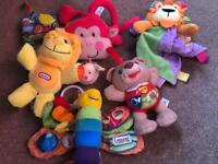 Baby's toy collection
