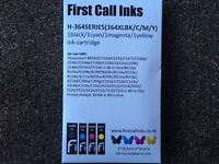 HP 364 compatible ink cartidges XL. 2 sets.