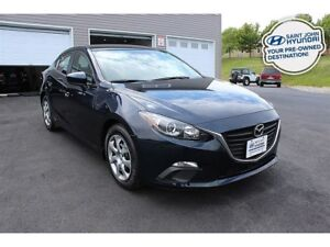 2016 Mazda Mazda3 GX! 6 SPEED! LOW KMS! $90 BI-WEEKLY!