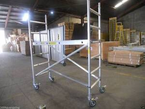 Aluminium Mobile Scaffold Tower Platform height 1.3m  Model F21A Archerfield Brisbane South West Preview