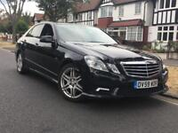 2009/59 MERCEDES E350 CDI ** 2 OWNERS FROM NEW + AMG SPEC ** £6995