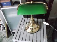 Retro Bankers Deck Lamp