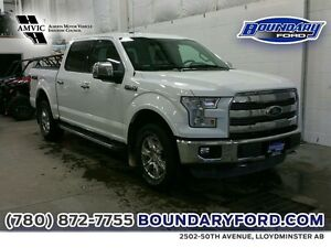 """2015 Ford F-150 4WD SuperCrew 145"""" Lariat W/ LEATHER, RMT STRT"""