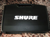 SHURE SM58 WIRELESS MICROPHONE AS NEW