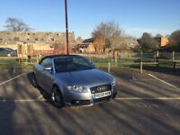 2009 Audi A4 S Line Convertible for sale - low mileage