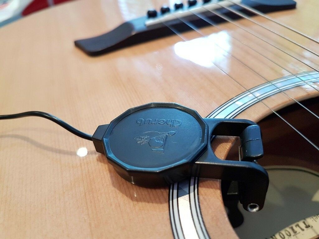 Acoustic Guitar / Ukulele Clip-on Pickup / NEW / 2.5m lead | in ...