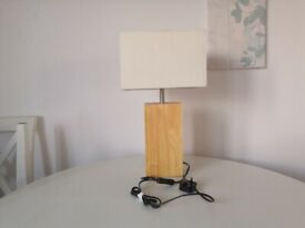 ...............A bedside table lamp++++++++++++