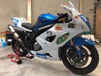 Suzuki sv650 trackbike