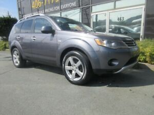 2008 Mitsubishi Outlander 3.0L V6 W/ ALLOYS LEATHER PADDLE SHIFT