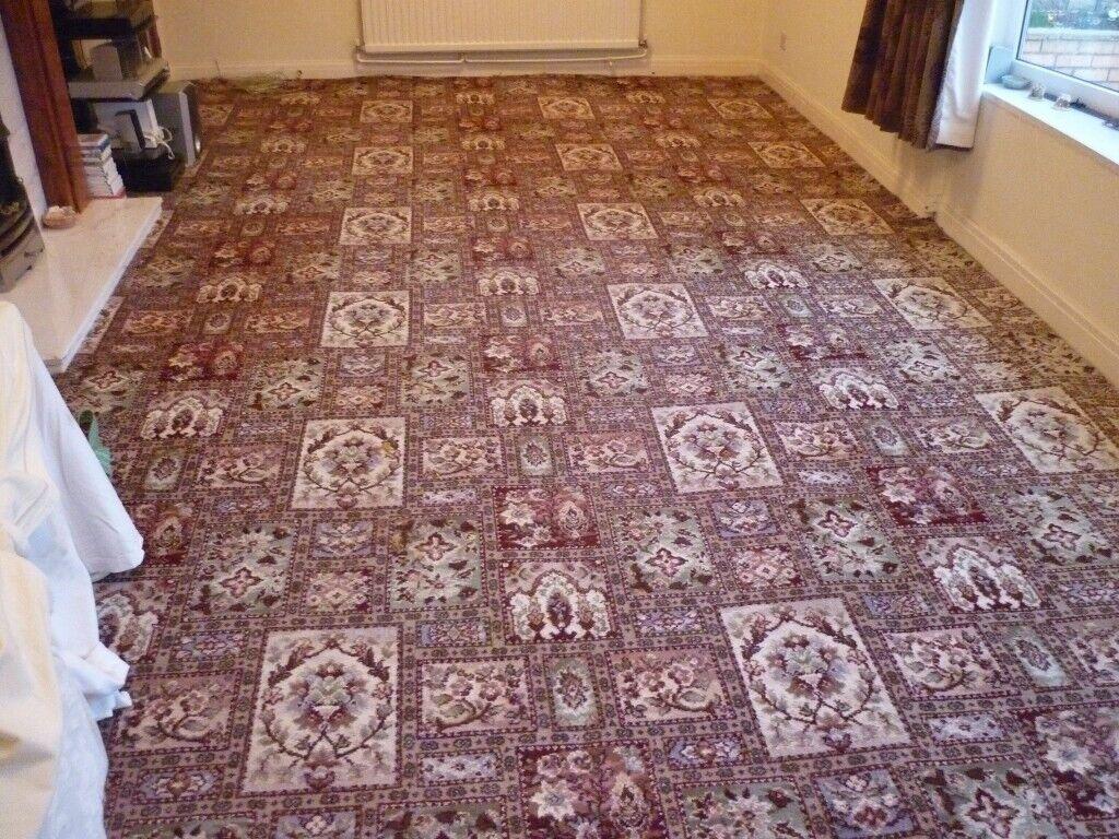 Patterned Wool Carpeting Carpet Vidalondon