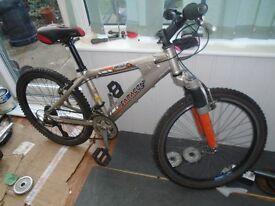 saracen mountain bikes 24 wheels