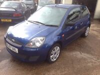 57/2007 Ford Fiesta Style, 1.25 Manual Petrol, 83000 miles, New MOT, Just Serviced, 3 Door, 2 Owners