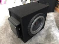 #A DB AUDIO TREX 10 Subwoofer and KENWOOD X501-1 Amplifier