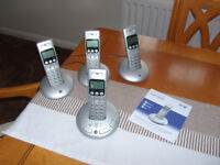 BT Graphite 3500 Quad Phone Set