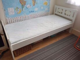 Ikea children's bed with mattress