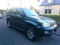 Toyota Landcruiser LC4 D-4D 3.0L Automatic 2006 8 seater