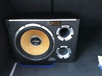 Vibe sub with amp