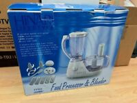 NEW BOXED Hinari Lifestyle Food Processor 1.5L FPB3 Blend Chop Knead Whisk Grate Shred