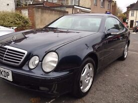 Mercedes clk 320 petrol, automatic , good condition , m.o.t march 2017