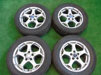"FORD FOCUS, GALAXY, MONDEO,TRANSIT CONNECT, C-MAX, S-MAX 16"" inch ALLOY WHEELS ( our ref 061 )"