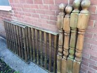 Garden Decking Posts & Caps, Spindles, Rails