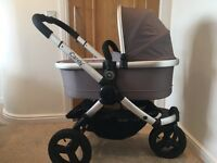 icandy peach jogger (glacier) - pushchair & carrycot
